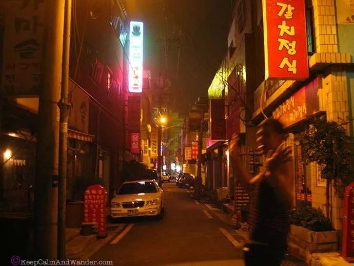 Korean Barbecue and Gay Busan, South Korea.