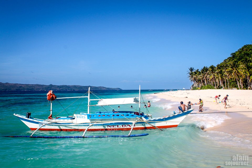 Snorkeling and Island Hopping in Boracay, Philippines.