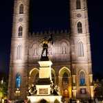 Montreal: Notre Dame Basilica at Night