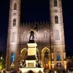 Montreal: Notre Dame Basilica at Night