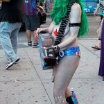 New York City: Naked Cowgirl at Times Square