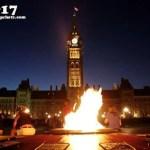 Ottawa: Parliament Hill Centennial Flame