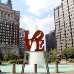 Love is in the Park in Philadelphia