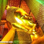 The Reclining Buddha in Bangkok