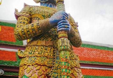 The Grand Palace in Bangkok Thailand.