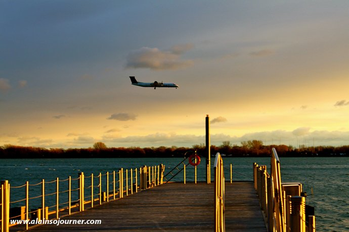 Things To Do in Toronto for Budget Travellers Harbourfront Toronto Sunset