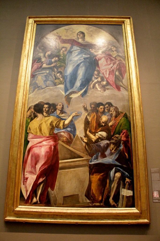 El Greco's, THE ASSUMPTION OF THE VIRGIN