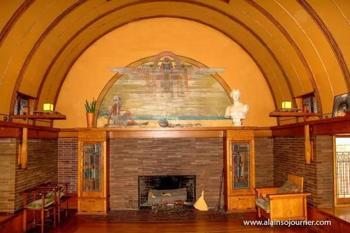 Chicago Frank Lloyd Wright Home 11