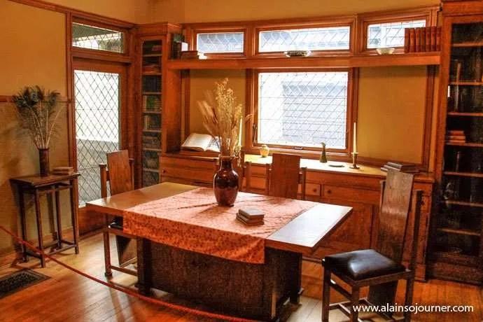 Chicago Frank Lloyd Wright Home 15