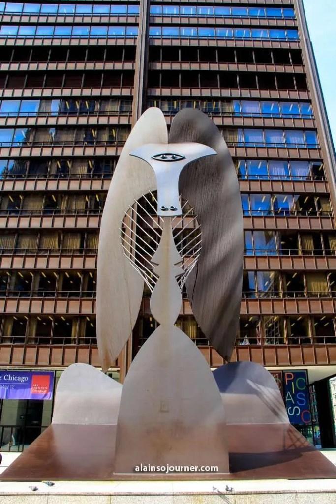 Picasso Sculpture Chicago Public Arts in Chicago