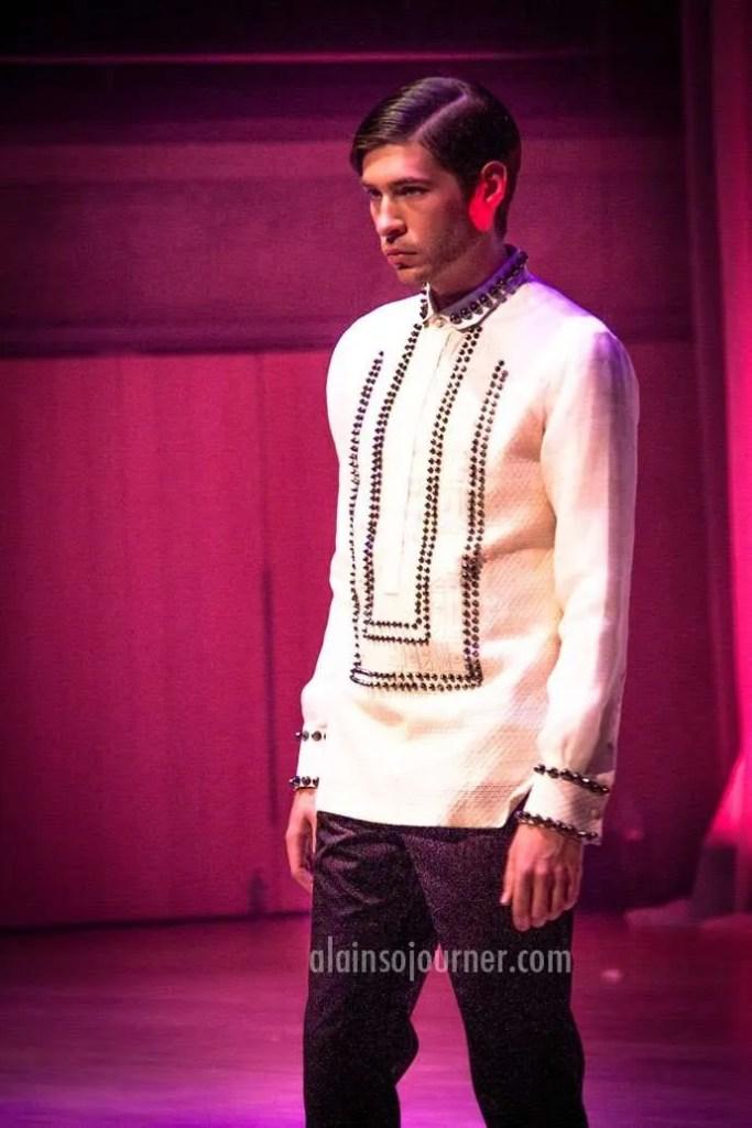 Canada-Philippine Fashion Show - Men Collection.