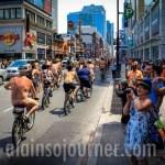 World Naked Bike Ride Toronto 2013 WNBR 6 World Naked Bike Ride 2013 in Toronto