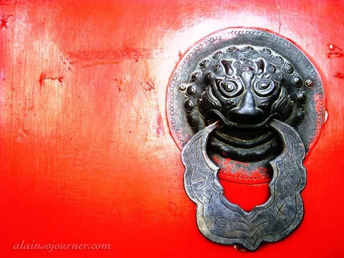 Chinese house Doors