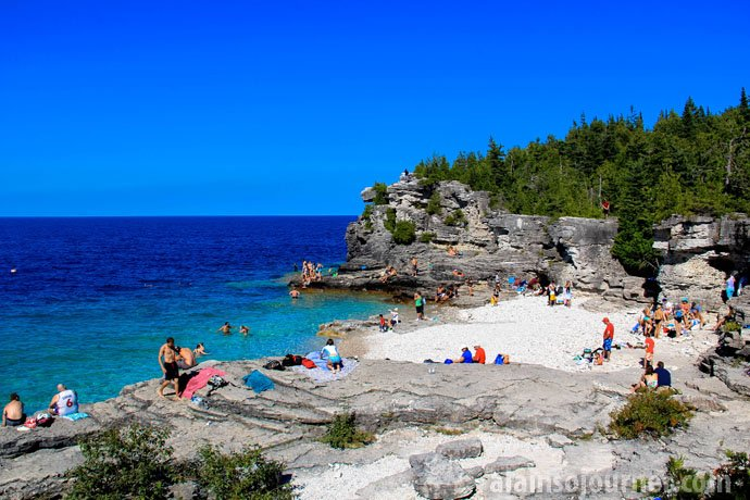 Indian Head Cove Grotto