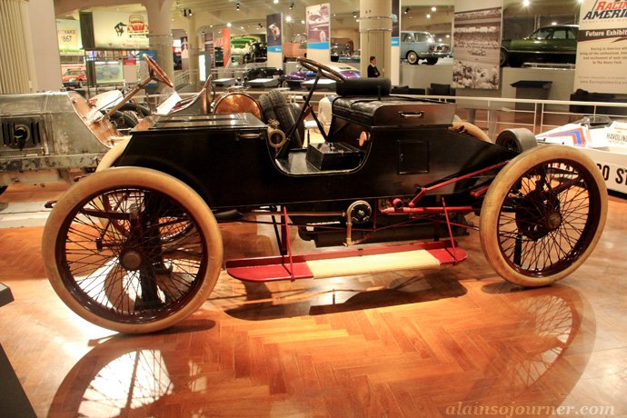 Henry Ford Museum in Detroit Locomobile