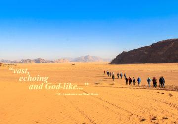 Wadi Rum desert Jordan T.E. Lawrence of Arabia