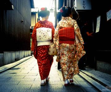 Portraits of a Geisha Kyoto japan