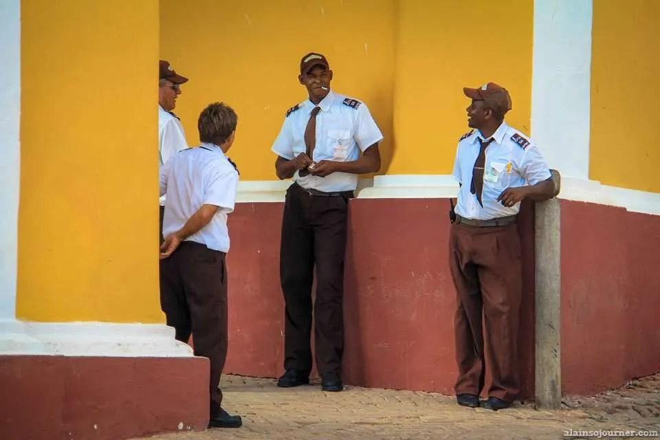 Cuban Security Guards