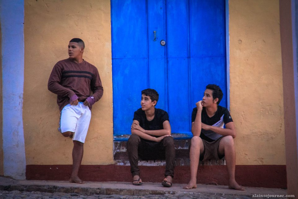 Teenagers in Cuba