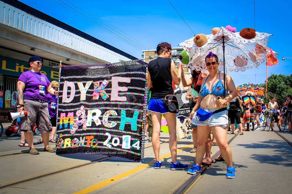 Dyke March Toronto 2014 - World Pride Edition