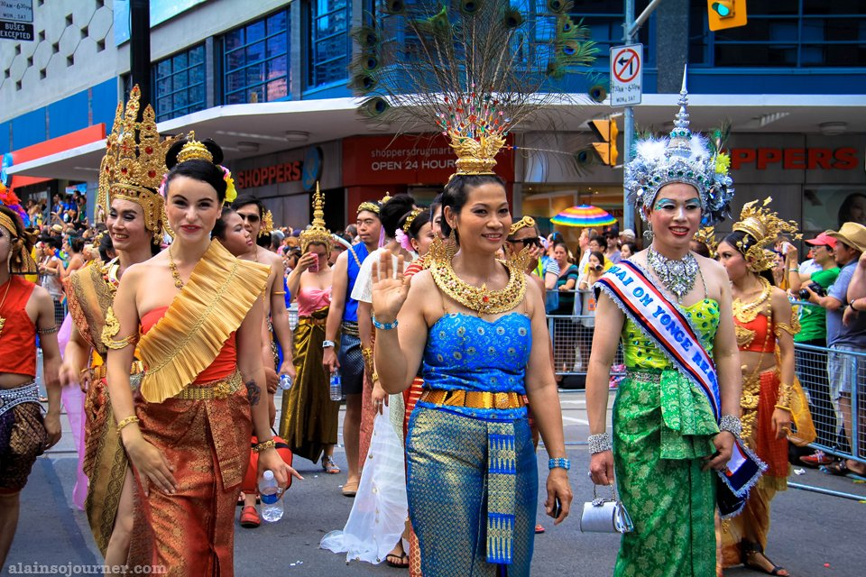 World Pride Parade 2014 Toronto Thailand