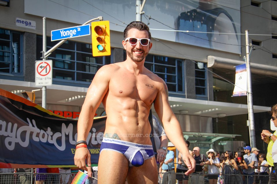 World Pride Parade Toronto 2014 / TD Boys