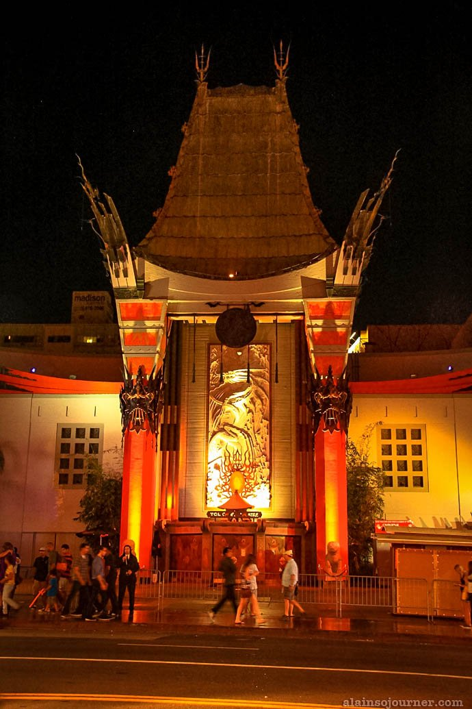 Grauman's Chinese Theater Hollywood Boulevard