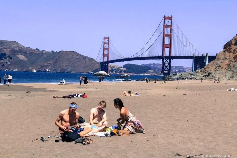 Golden Gate Bridge Baker Beach San Francisco Photos