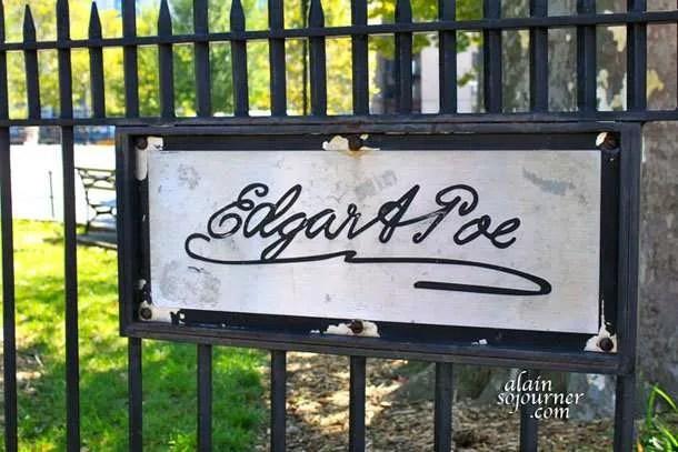 The House of Edgar Allan Poe in New York City.
