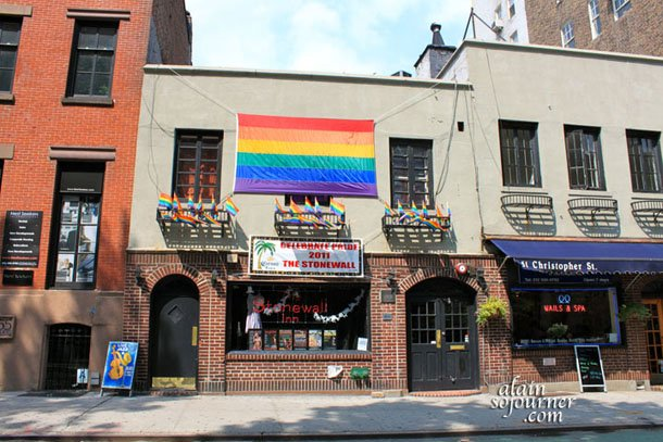 Gay Village and the Greenwich Village in New York City