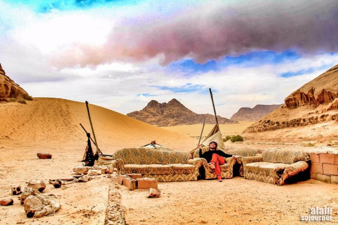 Things to do in Jordan: Go couchsurfing.