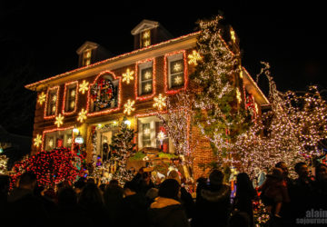 Dyker Heights Christmas Lights in Brooklyn.