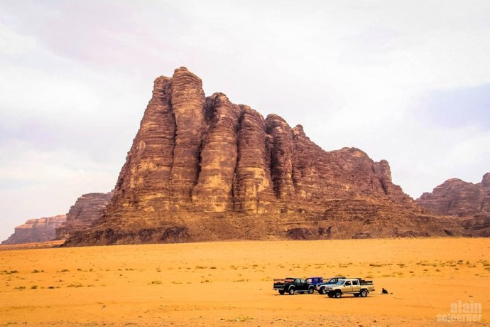 Things to do and see in Jordan: Gaze at the Seven Pillars of Wisdom