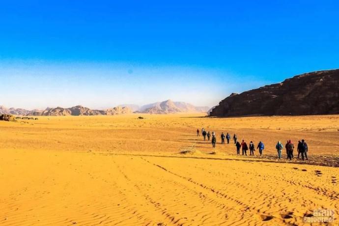 Things to do and see in Jordan: Explore Wadi Rum.