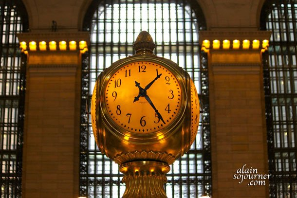 The Grand Central Station in New York City.