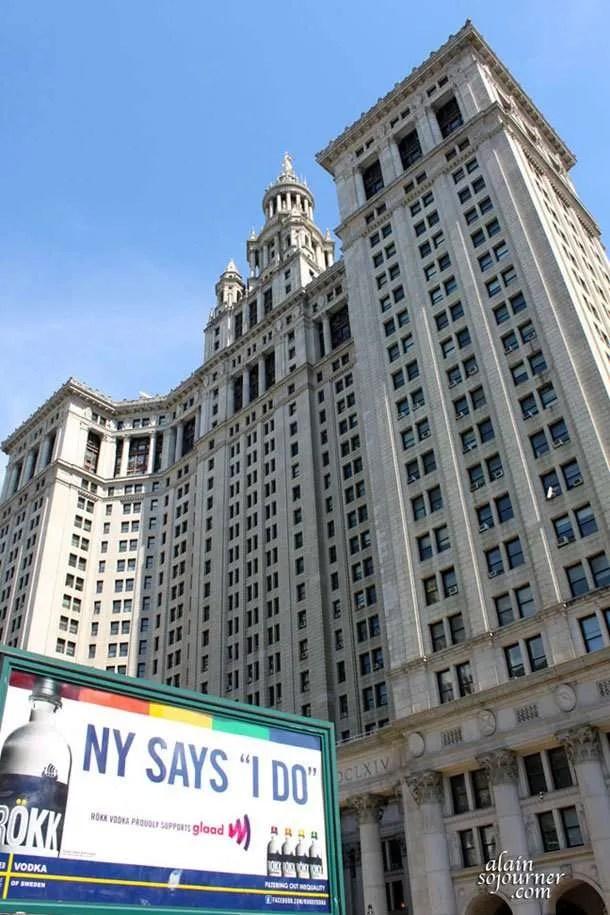 The City Hall of Manhattan
