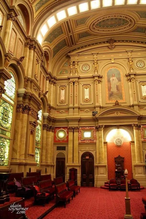 Rennaisance Hall inside the Masonic Temple in Philadelphia.