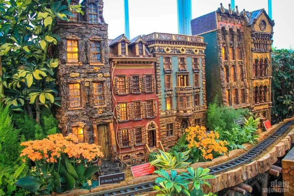 Train Show at New York Botanical Garden 2015.