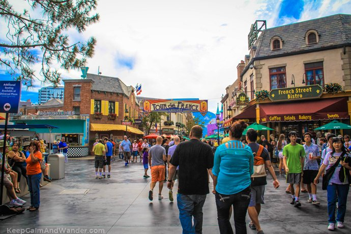 What to do and see at Universal Studios in Los Angeles Gay Travel Blog European Street