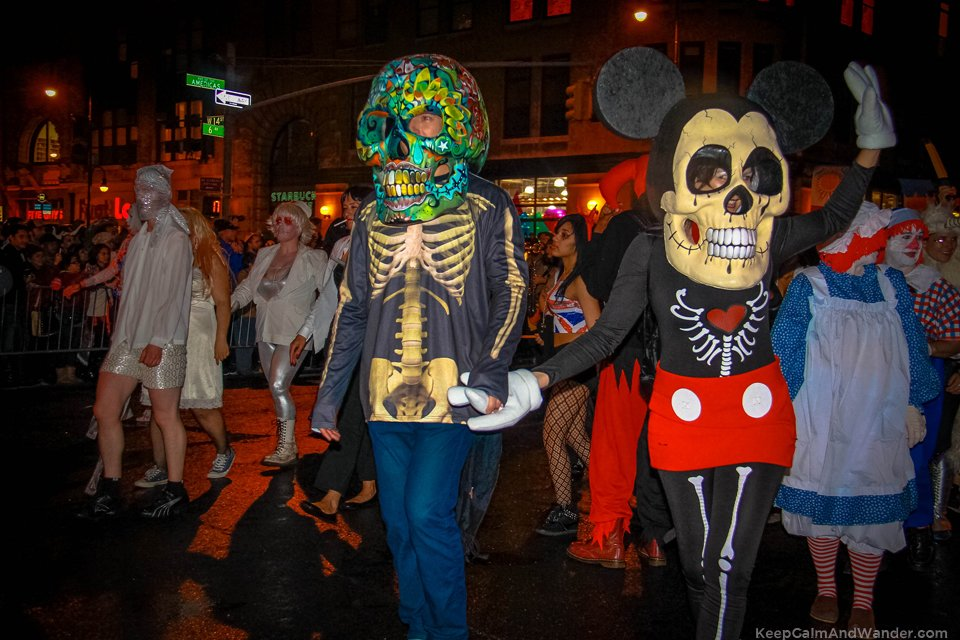 Love in NYC Halloween Parade.