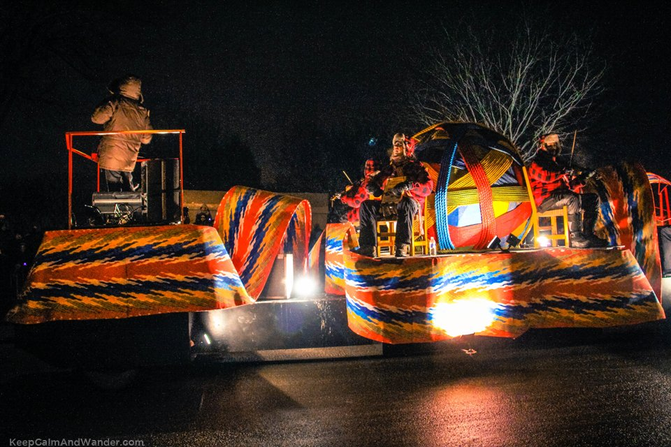 Quebec Winter Carnaval Parade 2015.