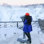 Frozen Niagara Falls Looks Like an Outdoor Art Installation