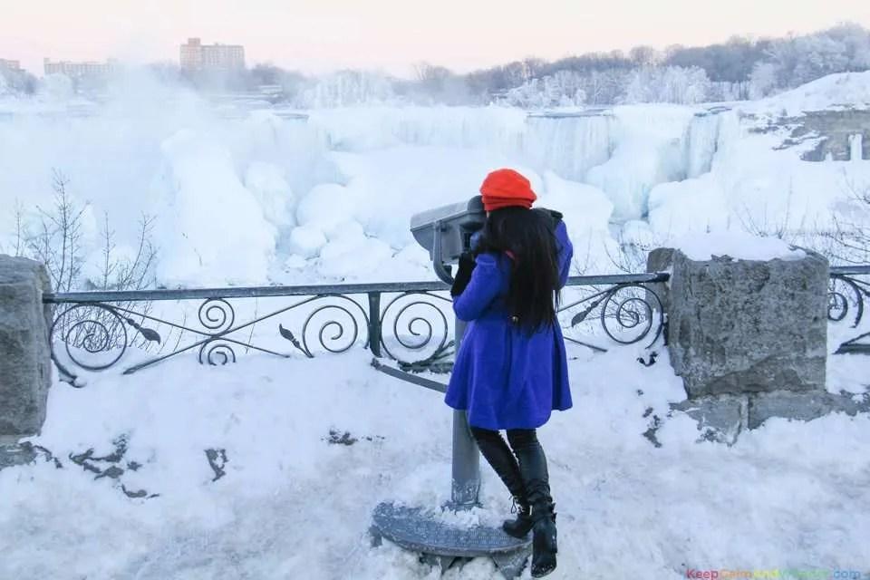 Frozen Niagara Falls Looks Like an Outdoor Art Installation