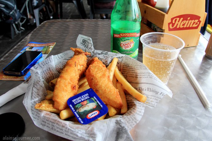 Fish and Chips Tobermory