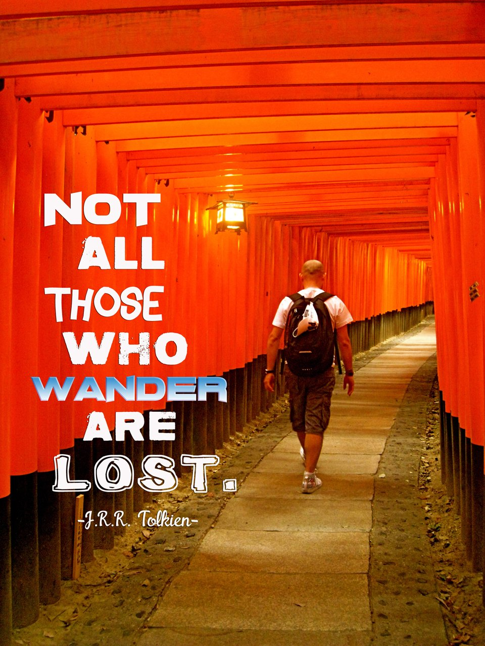 Inspiring Travel Quote JRR Tolkien