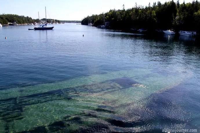 Shipwrecks in Canada