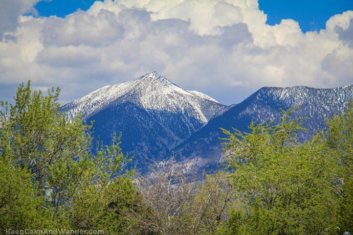 Flagstaff From Phoenix to Grand Canyon: Tips for Backpackers San Francisco peaks