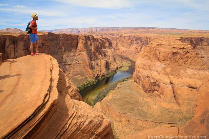 Horseshoe bend Arizona From Phoenix to Grand Canyon: Tips for Backpackers.