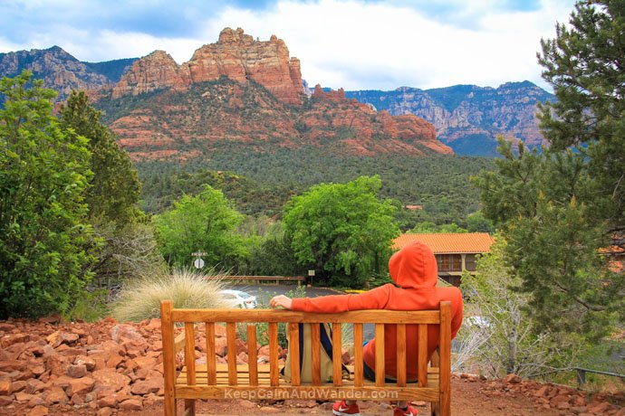 Sedona is two hours and a half from Phoenix.