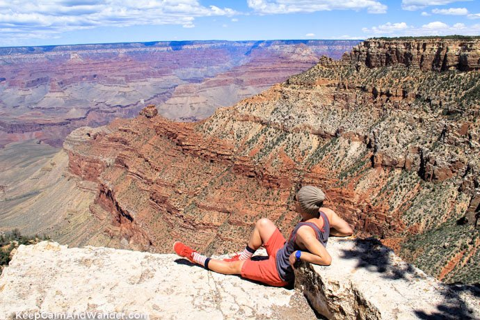 Recommended Hiking Trails at the Grand Canyon: Rim Trail / Pipecreek Vista.